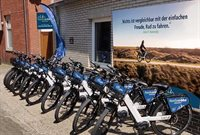 E-Bike -Verleih Nordsee-Bike